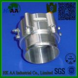 Präzisions-drehenprägebillet-Aluminiumdrossel-Druckluftventil-Rasterfeld-Heizung CNC-5-Axis