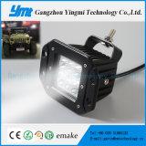 Luzes da lâmpada do trabalho do ponto do diodo emissor de luz 18W do CREE para o Wrangler do jipe off-Road