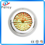 10W 12V subaquática RGB LED Light 1000lm impermeável IP68 Fountain Pool Lamp Lights16 Cor Change + 24key IR Remote Controller