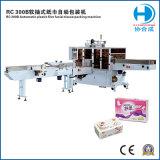 Machine à emballer de papier de soie de soie pour le tissu facial