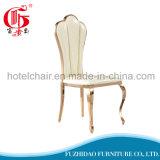 Cadeira de couro do banquete do hotel do aço inoxidável do plutônio com jantar