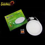 Ronda Precio Pequeño Panel Plano de Luz LED Proveedores