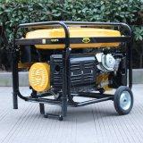 Generador portable de la gasolina del hogar refrigerado del alambre de cobre 13HP del bisonte (China) BS6500h (h) 5kw 5kVA para la venta