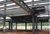 Edificio prefabricado de la estructura del salón de muestras del coche