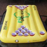 Lustiges gutes Wasser-Spiel Belüftung-oder TPU aufblasbarer Bier Pong Tisch-Gleitbetrieb