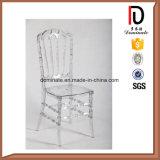 Aluminiumhochzeit verwendeter GroßhandelskristallChiavari Stuhl