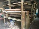 El polvo de fusión en caliente máquina laminadora de Film de revestimiento de tela