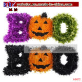 Halloween Decoração Glitter Spooky Sign Halloween Party Supply (H8070)