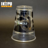 Impressão personalizada 12oz Smoothies Pet descartável recipiente de plástico com tampas