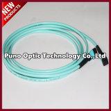 12 faisceaux MPO au câble femelle de joncteur réseau de fibre optique de MPO Pinless