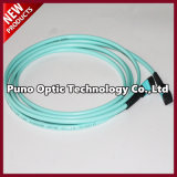 12 memorias MPO al cable óptico femenino del tronco de fibra de MPO Pinless
