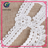 Exquisite Corcheted Antique Cotton Tambour Lace Collar