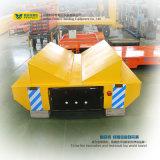 Carro do trilho da tubulação de aço com sustentação da forma de V