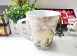 cuvette neuve de Chine d'os de la fleur 350ml pour le lait, tasses de Drinkware
