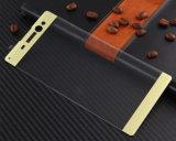blauer heller Handy-ausgeglichenes Glas-Bildschirm-Antischoner der Volldeckung-3D für Sony XA