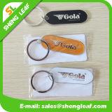 Form Keychain für förderndes persönliches kundenspezifisches Weiß