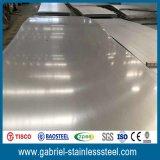 Piatto d'acciaio piano del metallo ss 304 inossidabili