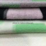 Tejido de lana de verificación estereoscópica para el abrigo