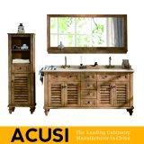 Neue erstklassige amerikanische einfache Art-festes Holz-Badezimmer-Eitelkeit (ACS1-W22)