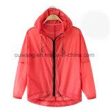 옥외 운동 주문 UV 방어적인 재킷