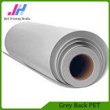 Eco-solvant 330micron gris mat Retour Pet Film