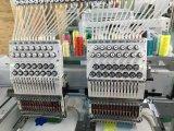 Große Geschwindigkeit 2 Hauptmaschinen der Stickerei-3D für Schutzkappe