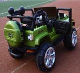 차를 운전해 전기 장난감 아이들이 차가운 작풍에 의하여 농담을 한다