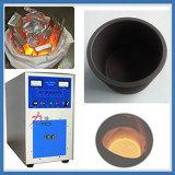 A freqüência 2-10kHz jejua fornalha de derretimento do cobre da indução/a de alumínio de Smelting