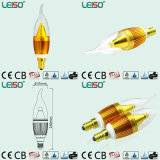 электрическая лампочка свечки обломока E14/B15 Scob CREE 5W (LS-B305-SB)