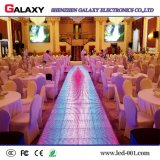 A todo color P/P8.9286.25 LED Interactivo de pista de baile con sensible al tacto para bodas, eventos
