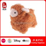 Stuk speelgoed van uitstekende kwaliteit van de Schapen van de Pluche van het Stuk speelgoed van Kinderen het Bruine