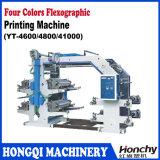4 Farben Flexo Drucken-Maschine mit Doktor Schaufel