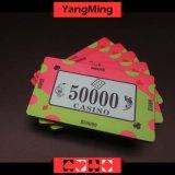 40g crean las virutas de cerámica Ym-Cp008 del casino para requisitos particulares de póker de las virutas de la calidad de cerámica del casino