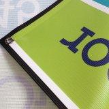 Förderung-Fahnen-Drucken-farbenreiche Ineinander greifen-Fahne mit Ösen