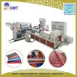 Máquina plástica esmaltada coloreada ASA de la protuberancia del azulejo de Ridge de la azotea de PVC+PMMA/