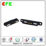 Conector magnético masculino e feminino de 3 pinos para produtos eletrônicos