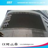 상점가/공항을%s P8 HD SMD 3535 옥외 구부려진 LED 스크린 1r1g1b