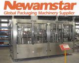 Máquina Fundir-Encher-Tampando giratória da Consumo-Redução de Newamstar