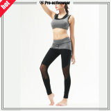 A ioga seca rápida do engranzamento das mulheres da forma de Whoelsale arfa caneleiras
