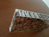 Сот Coated каменного цвета PE алюминиевый обшивает панелями плакирование стены