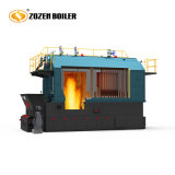 4000kg Cadeia Wood-Fired Horizontal Industrial da caldeira de vapor