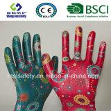 Guantes de la seguridad de los guantes del trabajo de los guantes del jardín