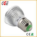 2.4G GU10 LEDの二重白色光の球根