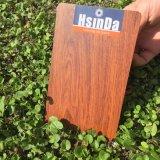 Revestimiento en polvo de sublimación de transferencia de calor de grano de madera
