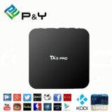 P&Y 2016 Nouvel élément tx5 PRO Amlogic S905X Android 6.0 Smart TV Box 2 Go et 16 Go Quad Core WiFi 5.8G 2.4G&4k