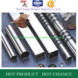 Tubo de acero inoxidable de la barandilla (SUS304, 316)