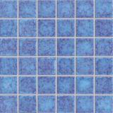 Azul Cerámica Piscina Mosaico (G344F)