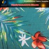 Beachwear 또는 바지 (YH2136)를 위한 열대 패턴을%s 가진 폴리에스테 자카드 직물 탄력 있는 직물