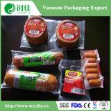 Формирование в нижней части пластиковой упаковки продуктов питания стретч горячее формование пленки