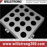 Aluminiumfurnier-blatt für Decken-materieller Architekturfassade-Panel-Kabinendach-Decken-Signage geprüfte Fassaden